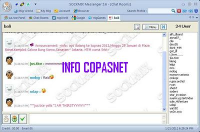 Sockmix Messenger