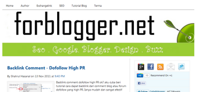 Thesis for blogspot